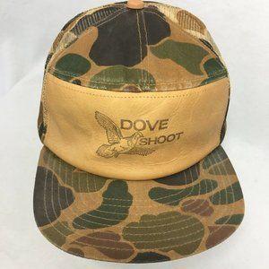 DOVE SHOOT BIrd Hunting Hat Mesh Snapback Trucker